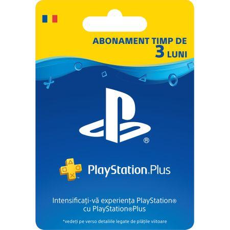 Card abonament PlayStation Plus RO Membership de 90 zile