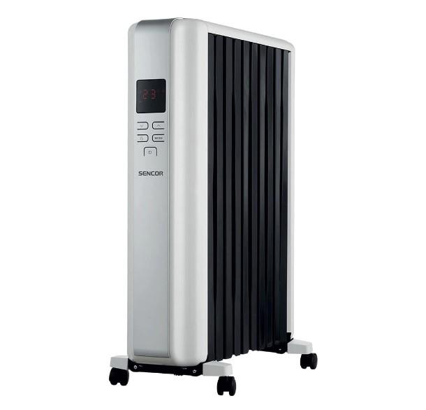 Radiator electric cu ulei Sencor, SOH 8110WH, 2300W