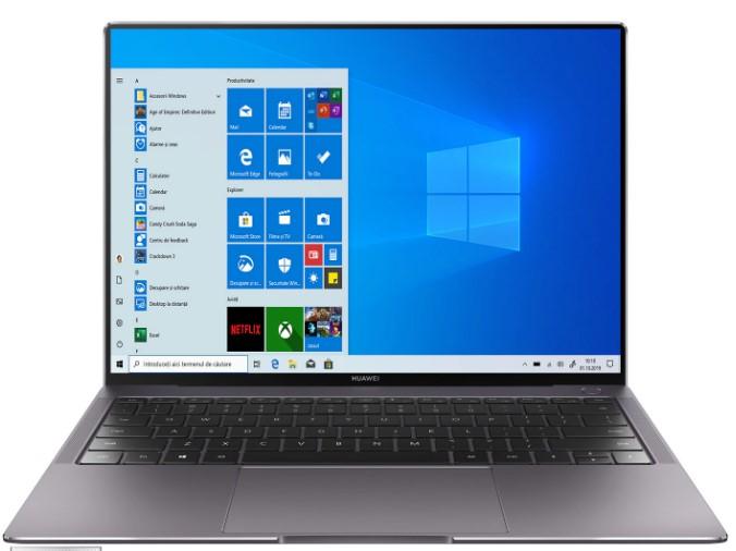 Laptop pentru programatori Huawei MateBook X Pro